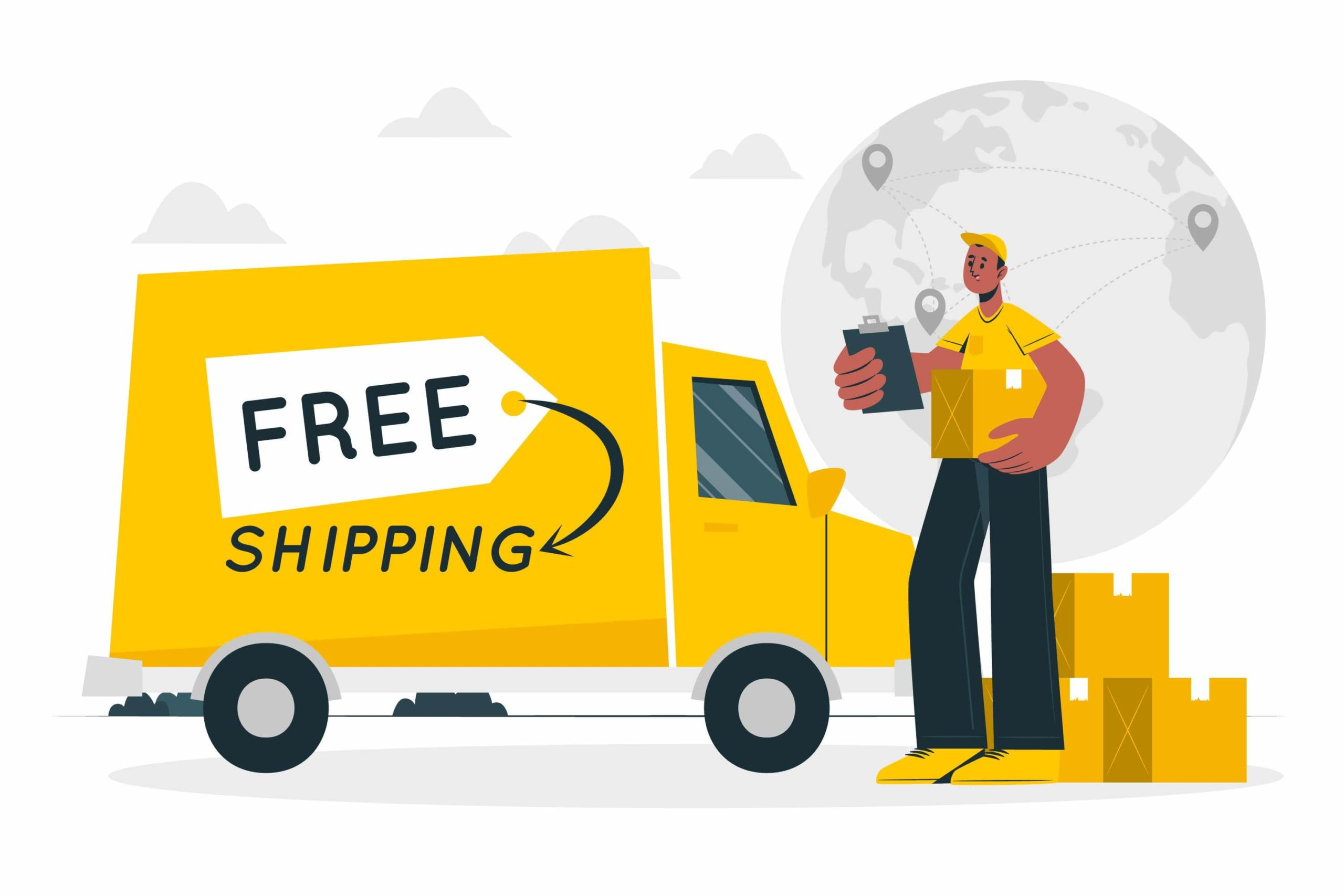 How to offer free shipping easily & simply on your Shopify store in less than 5 steps