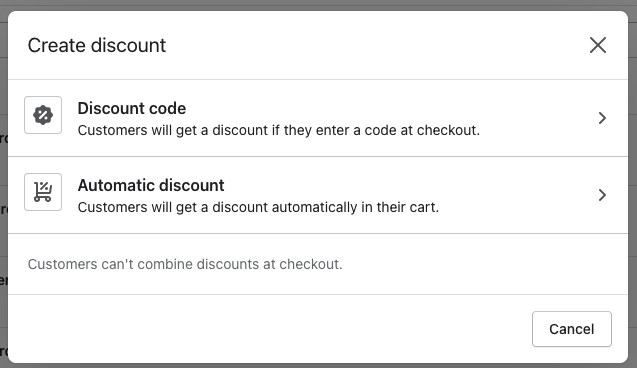 automatic discounts