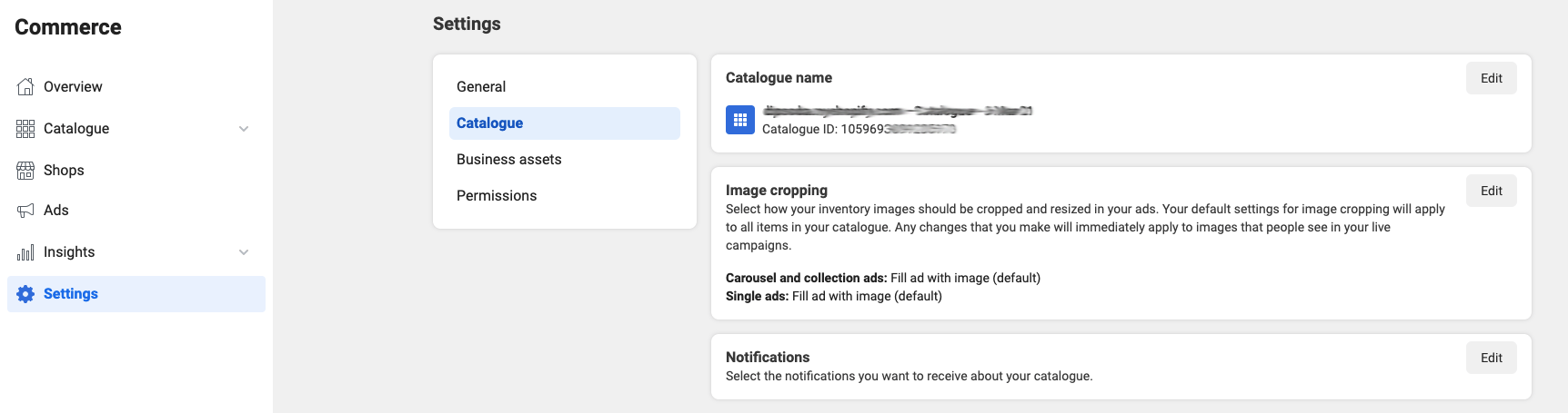 Shopify Catalog ID