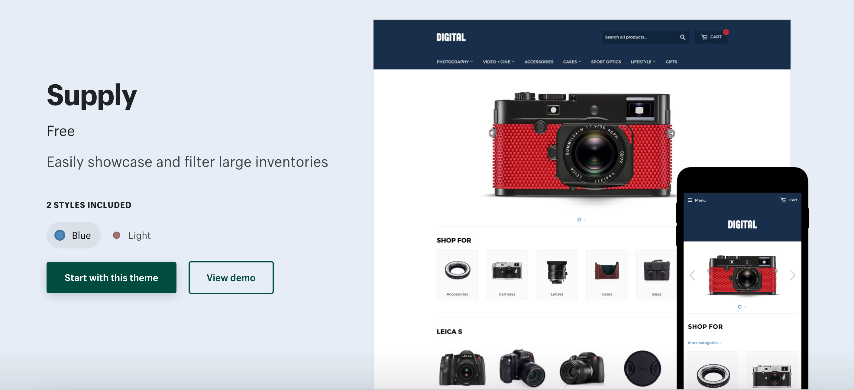 How to Make a Collection of Collections in the Supply Theme on Shopify
