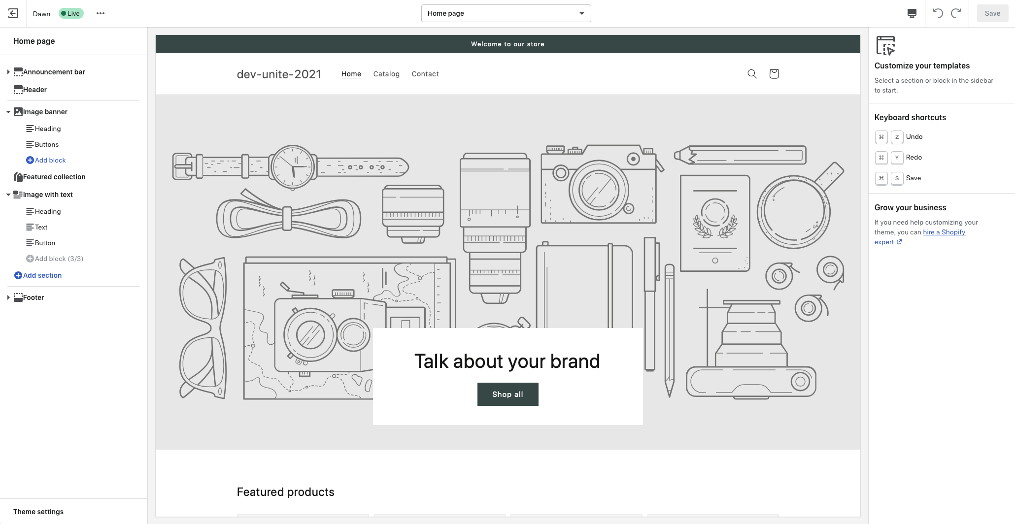 Shopify Online Store 2.0 – Release, Themes, Sections…