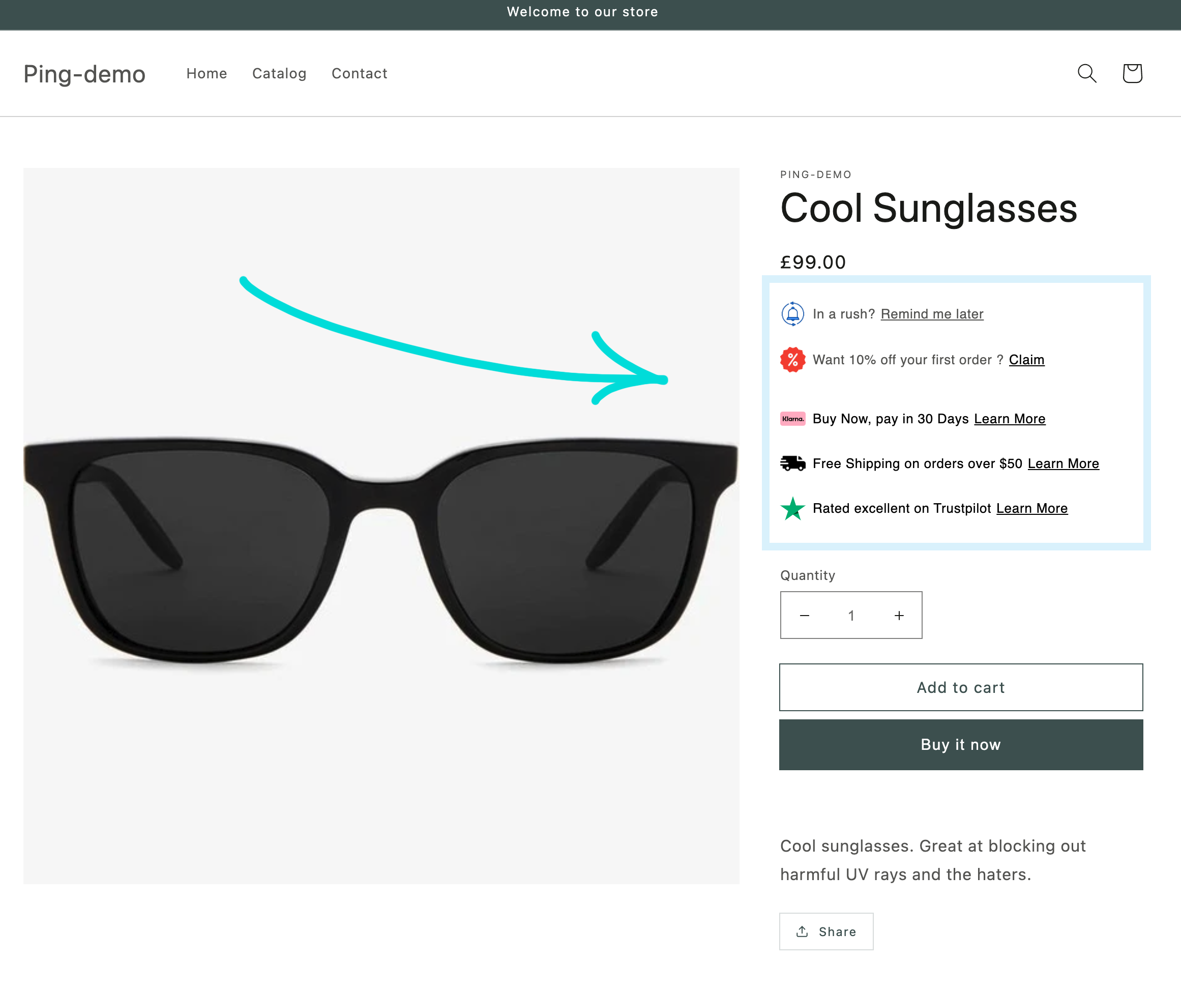 The power of on-site messaging for your Shopify store